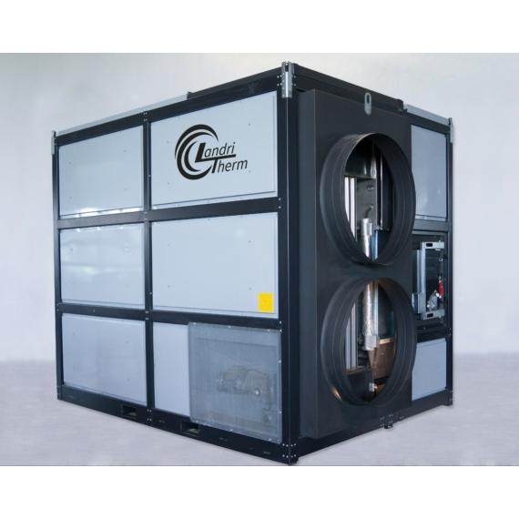 LandriTherm LA 750 aprítékos meleg levegős kazán (750 kW)