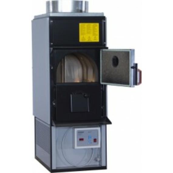 LandriTherm F28 C.V. meleg levegős fás kazán (34 kW)