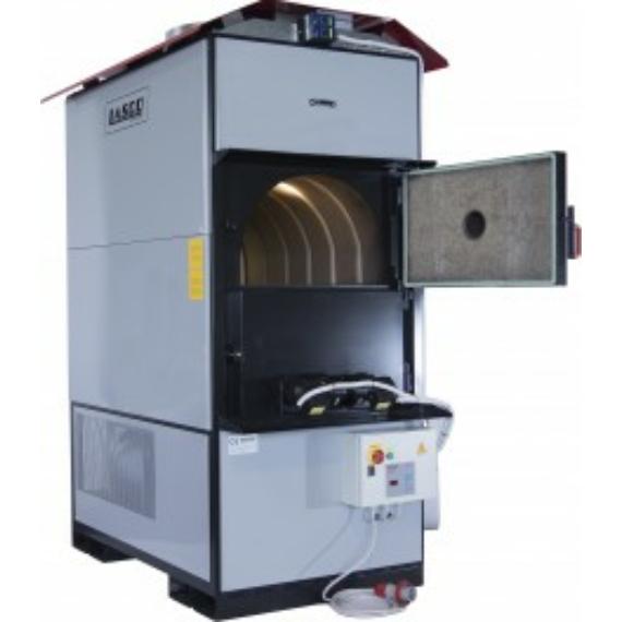 LandriTherm LA 425 meleg levegős fás kazán (480 kW)
